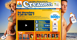 Creamers homepage