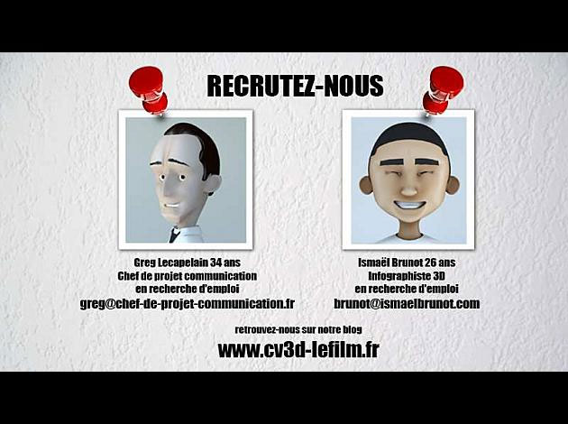 cv en film d u0026 39 animation 3d