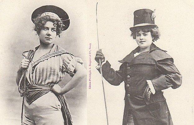 Comment imaginait on les femmes d 39 avenir en 1900 mode for Femme au foyer 1900