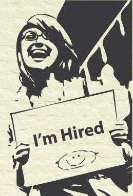 I am hired