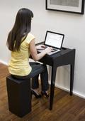 Un minibureau pour travailler en musique Modes dEmploi