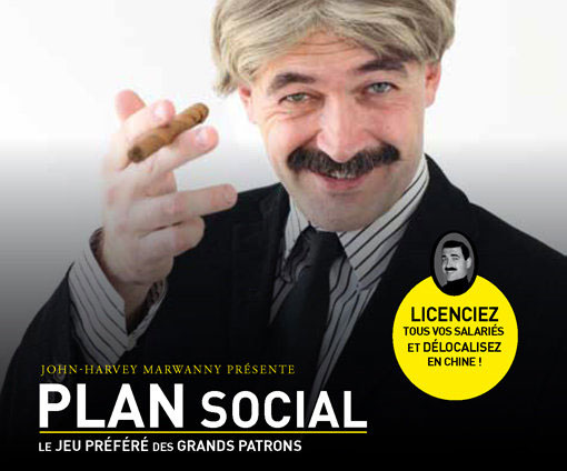 Plan social un jeu de cartes de la marwanny corporation