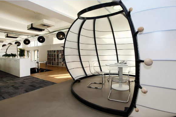 8 exemples de bureaux insolites et originaux mode s d 39 emploi - Bureau originaux ...