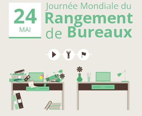 Premi re journ e mondiale du rangement de bureaux mode s d 39 emploi - Emploi de menage de bureaux ...