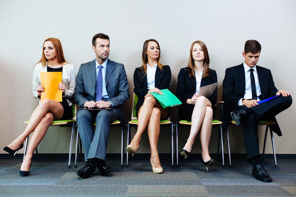 Candidats entretien embauche