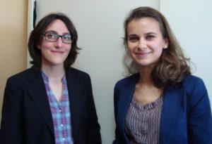 Christine Philippakis et Erika Bery, conseillères formation à l'AFTEC