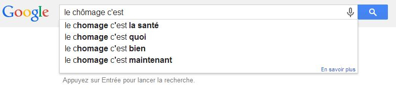 Google-chomage