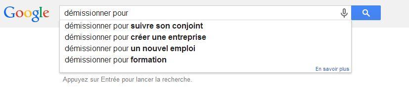 Google-demission