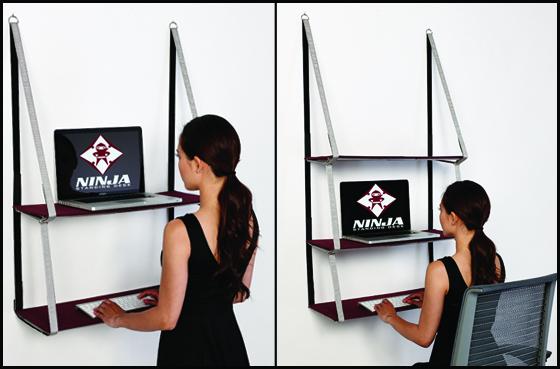 Ninja-stand-desk