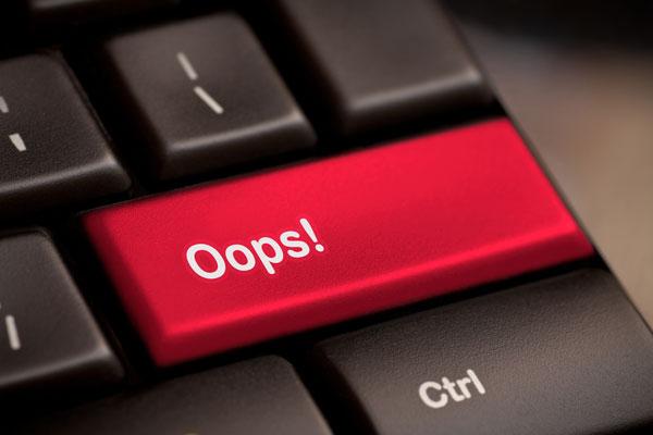 Ooops-clavier