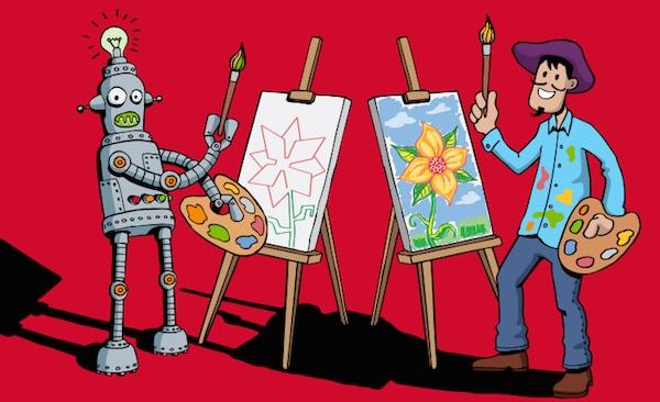 Creativity-Vs-Robot