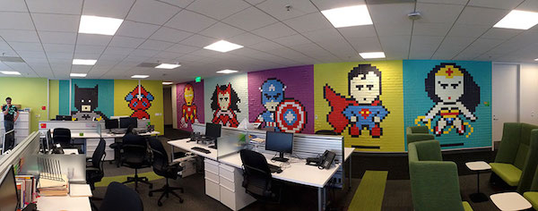 office-wall-post-it-art-superheroes19