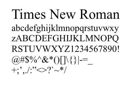 Times-New-Roman