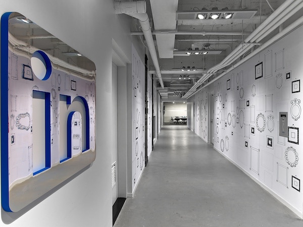 LinkedIn-NYC-couloir