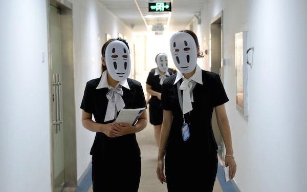 Chine-travail-masques