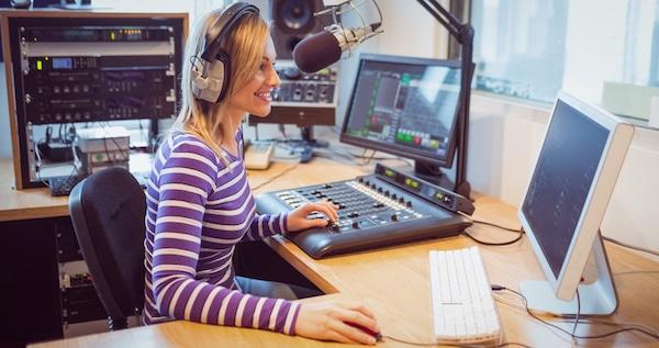 Animatrice-radio