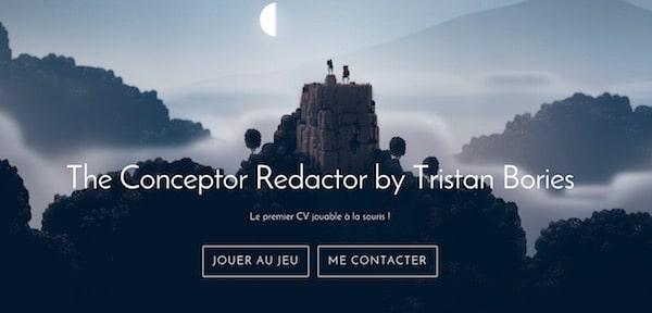 CV-Jeu-Video-Tristan-Bories