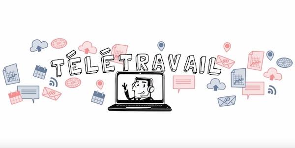 Teletravail-video