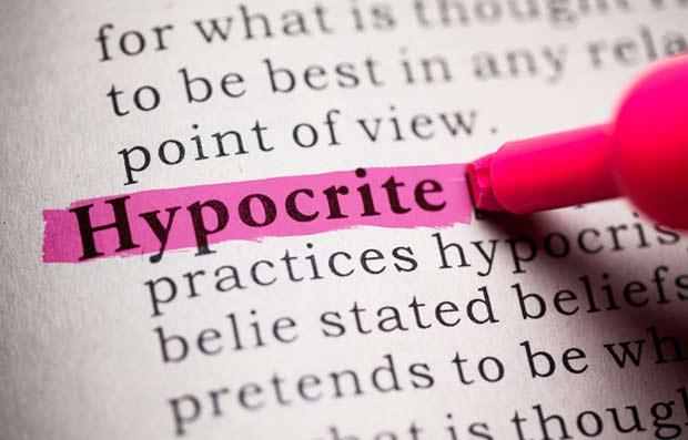 Afbeeldingsresultaat voor hypocrisie