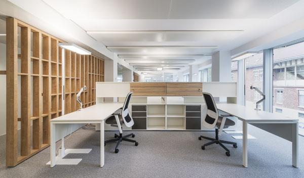 Des bureaux fonctionnels et modernes à disposition