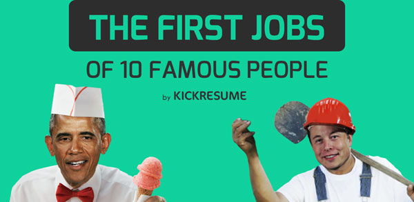 First-jobs-of-famous-people