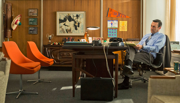 des objets de bureau de la s rie mad men aux ench res mode s d 39 emploi. Black Bedroom Furniture Sets. Home Design Ideas
