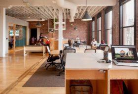 bureaux design d'Airbnb Portland