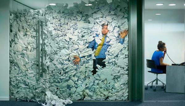 66% des salariés ont besoin dun bureau bien rangé pour être