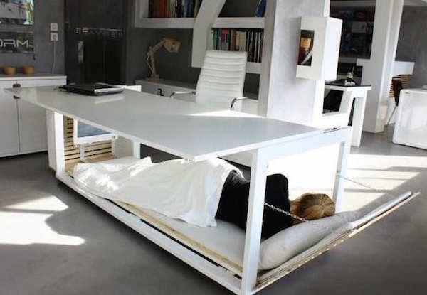 Bureau-lit