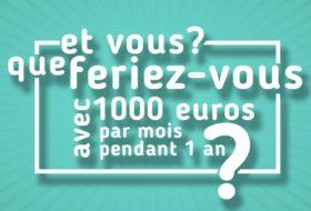 Revenu universel base   Français va tester pendant 1 an
