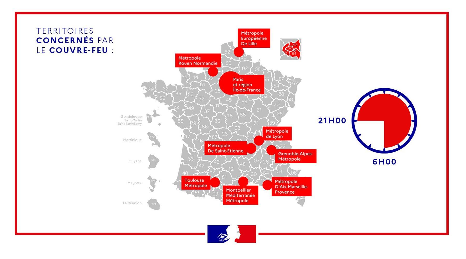 Couvre Feu L Attestation A Telecharger Sur Le Site Du Ministere De L Interieur